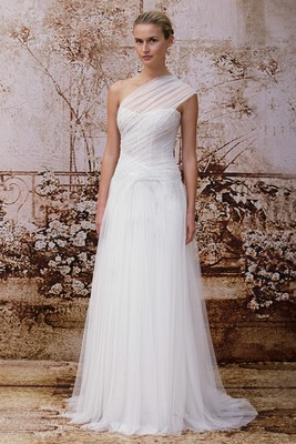 Monique Lhuillier Fall 2014 Wedding Gown  (4)