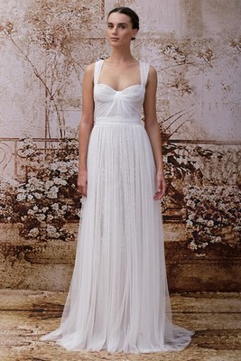 Monique Lhuillier Fall 2014 Wedding Gown  (5)
