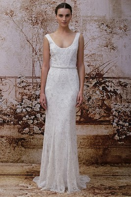 Monique Lhuillier Fall 2014 Wedding Gown  (6)