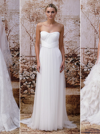 Monique Lhuillier Fall 2014 Bridal Collection