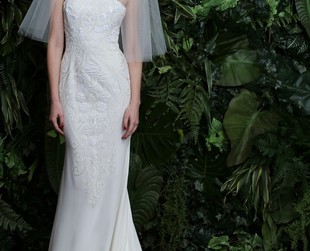 Prepare to be amazed by the multitude of gorgeous wedding gowns from Naeem Khan's first bridal line.