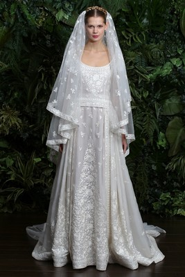 Naeem Khan Wedding Dress Fall 2014  (3)