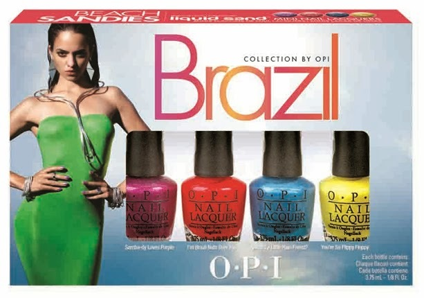 Opi Brazil 2014 Liquid Sand Collection