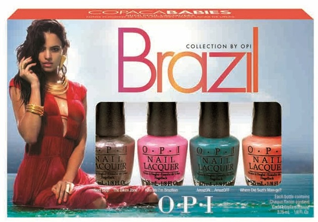 Opi Brazil Copacababies Collection