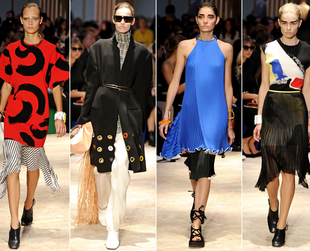 Check out the best highlights from Celine, Chloe, Givenchy, John Galliano and Stella McCartney.