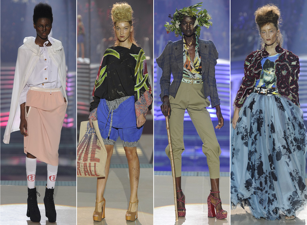 Vivienne Westwood Spring 2014 Collection