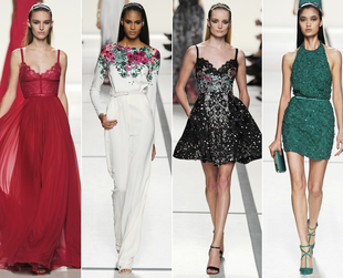 Have a look at the coolest highlights from Valentino, Giambattista Valli, Elie Saab, Alexander McQueen and Vionnet.