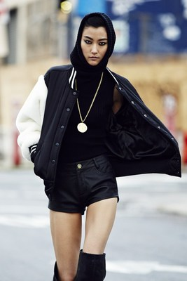 Rihanna River Island Winter 2013 Collection Look  (5)
