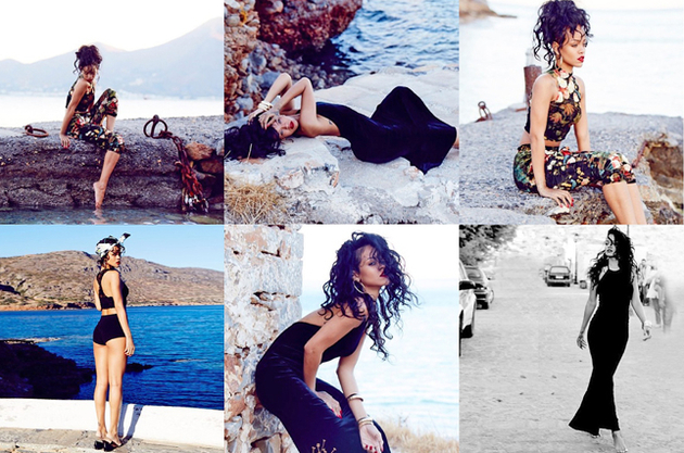 Rihanna for River Island Holiday 2013 Collection