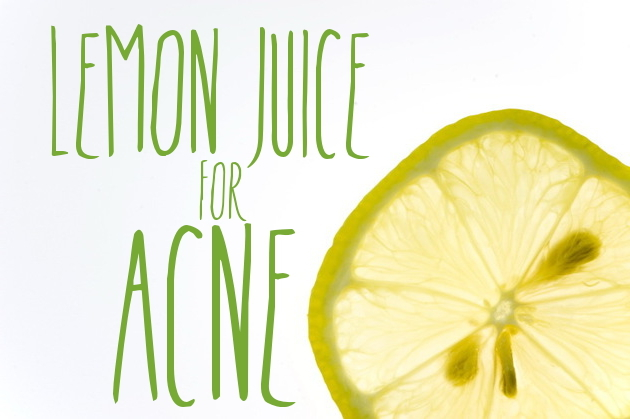 Skin Remedies: Lemon Juice for Acne