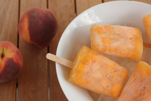 Peach Sunflower Seeds Sorbet