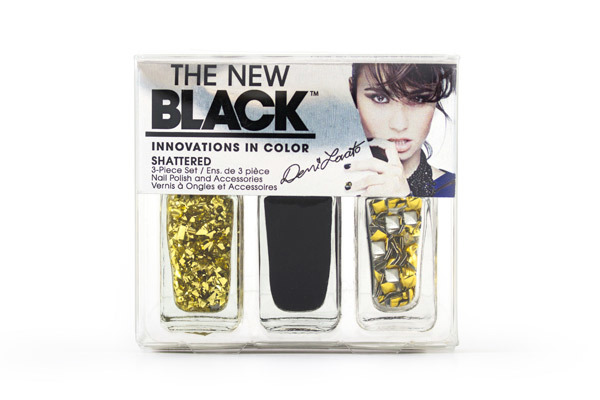 Demi Lovato The New Black Heart Attack To Be Shattered Nail Polish Set