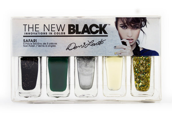 Demi Lovato The New Black Nightingale To Safari Nail Polish Set