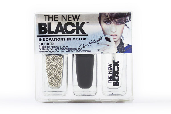 Demi Lovato The New Black  Really Don'T Care To Be Studded Nail Polish Set