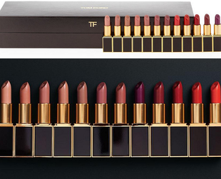 The holiday 2013 season will bring a luxurious set of Tom Ford lipsticks. Check out the luxury label's picks for the season.