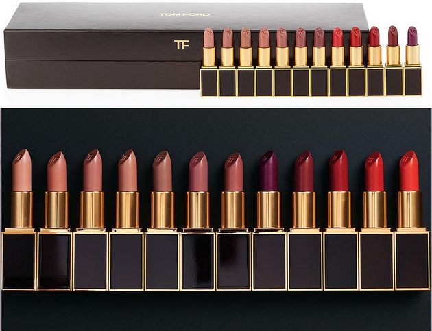 Tom Ford 12 Piece Lipstick Set For Holiday 2013