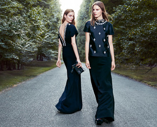 Feast your eyes on the effortlessly chic ensembles that define the new Tory Burch holiday 2013 lookbook.