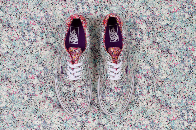Vans Liberty Holiday 2013 Splatter Print Sneakers