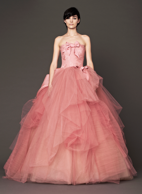Vera Wang Fall 2013 Bridal Princess Gown