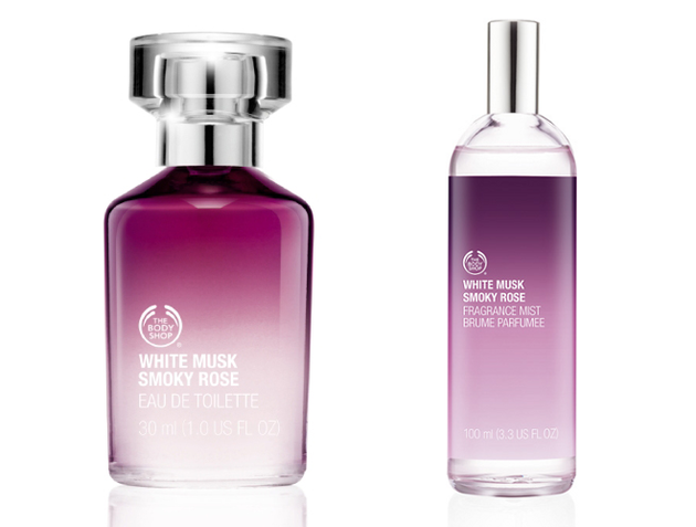 White Musk Smoky Rose From The Body Shop
