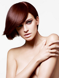 Winter Dark Auburn Hair Color