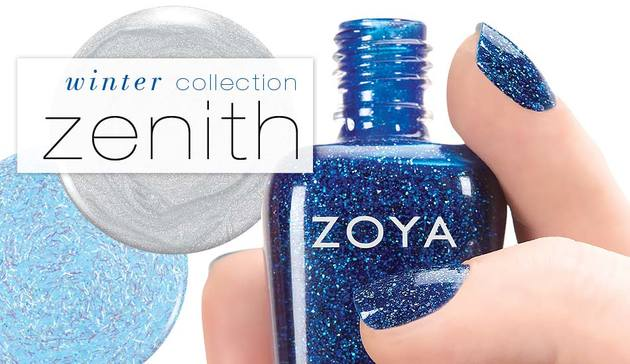 Zoya Zenith Winter Holiday 2013 Collection