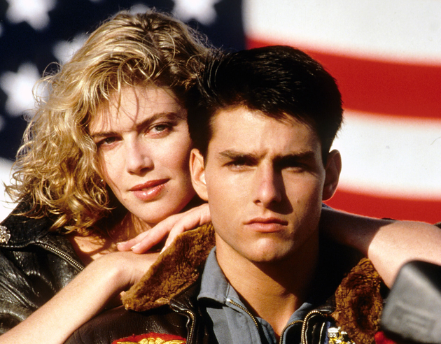 Kelly Mc Gillis In Top Gun
