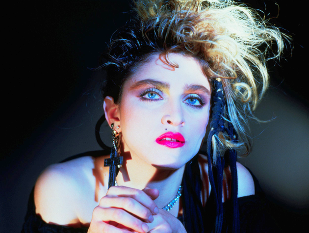 Madonna 80s Style