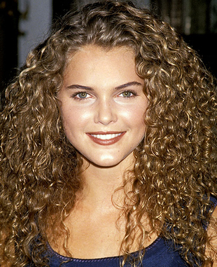 Keri Russell Naturally Curly Hair