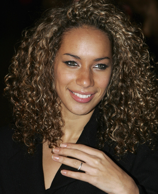 Leona Lewis Curly Natural Hair