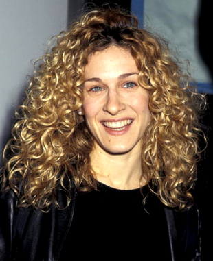 Sarah Jessica Parker Curly Natural Hair