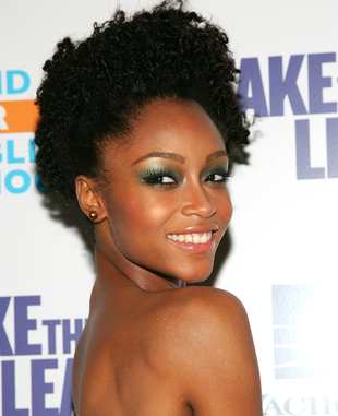 Yaya Dacosta Natural Hair