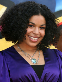 Jordin Sparks Curly Natural Hair