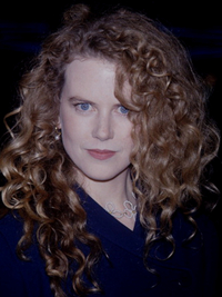 Nicole Kidman Natural Curly Hair