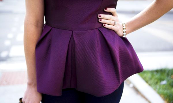 Peplum Trends