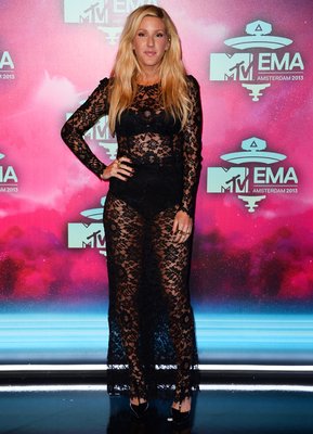 Ellie Goulding Dolce Gabbana Lace Dress