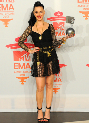 Katy Perry 2013 Emas Dress