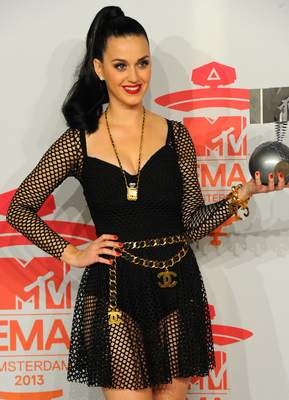 Katy Perry 2013 Emas Outfit