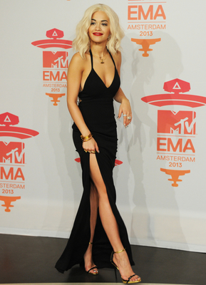 Rita Ora Emas 2013 Dress