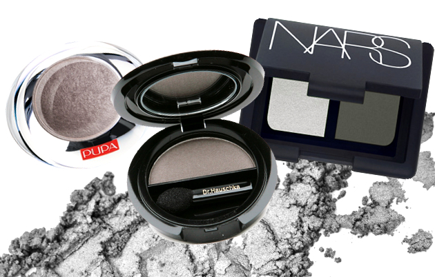 Medium Grey Eyeshadows