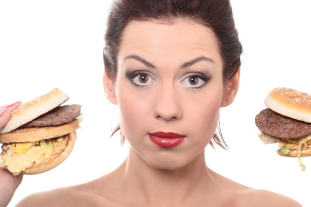 Unhealthy Food Is Bad For Skin