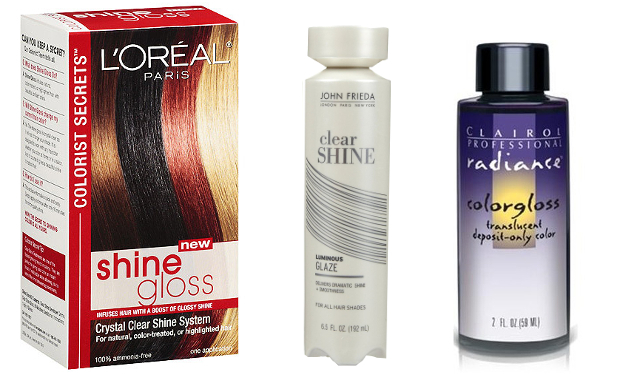 Hair Gloss Treatment Products