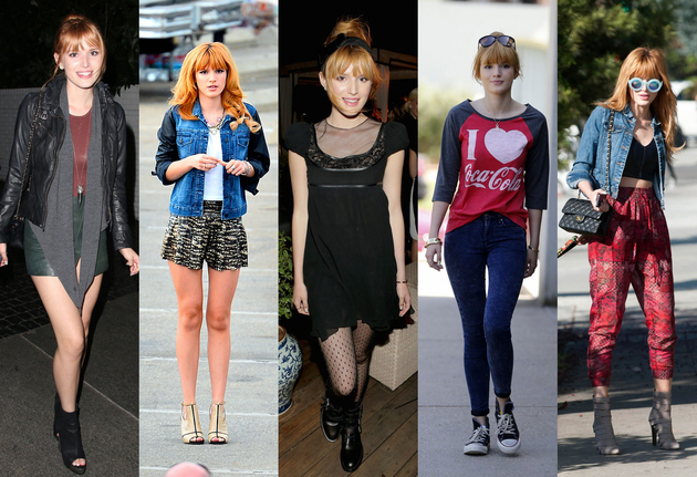 Bella Thorne Fashion Style