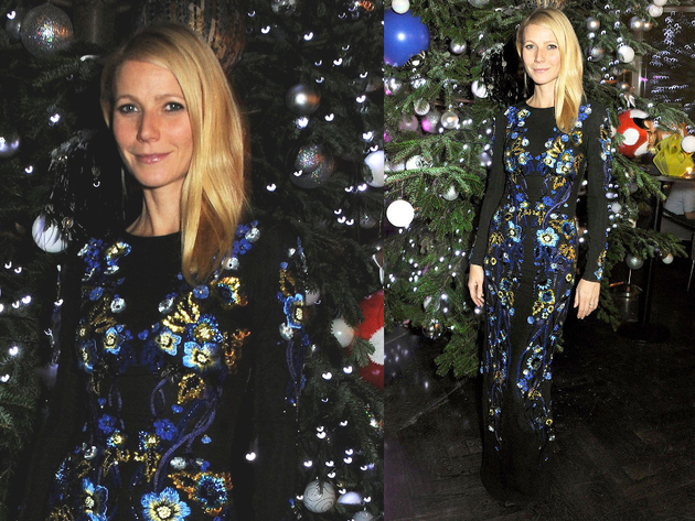 Gwyneth Paltrow Matthew Williamson Dress