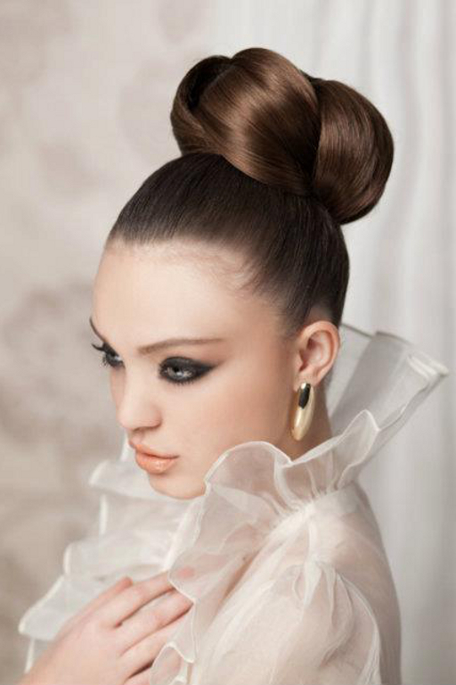Pictures  8 Wedding Hairstyles For Long Hair - Bun Wedding Hairstyle