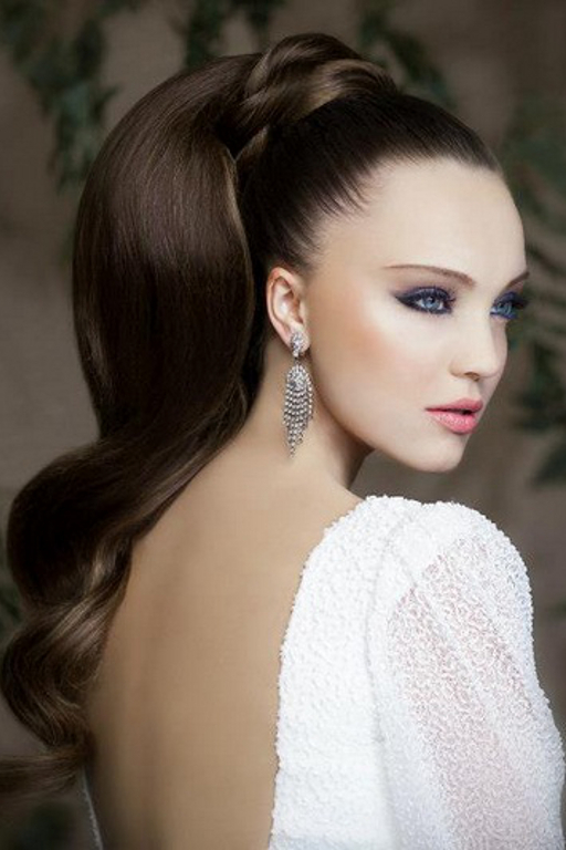 Remarkable Pictures 8 Wedding Hairstyles For Long Hair Wedding Ponytail Short Hairstyles Gunalazisus