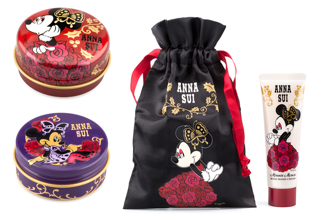 Anna Sui Minnie Lip Balms And Hand Cream