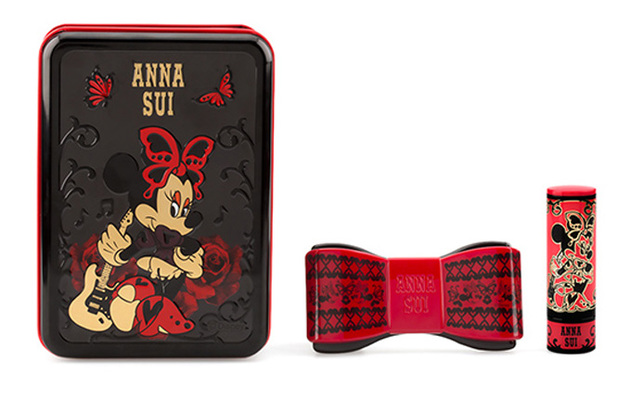 Anna Sui x Minnie Mouse Holiday 2013 Makeup Collection