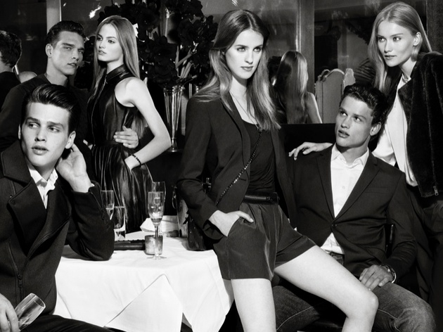 Armani Exchange Holiday 2013 Campaign