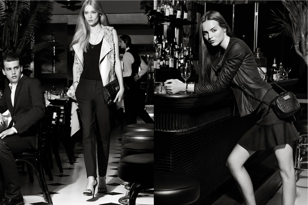 Armani Exchange Holiday 2013 Lookbook
